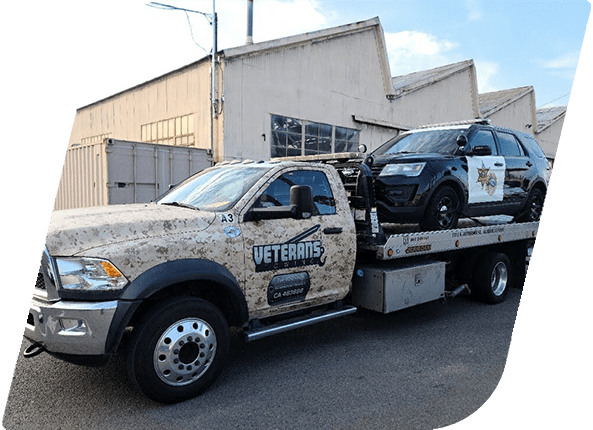 Veterans Towing Truck